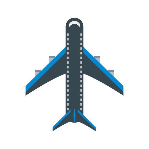Ícone de avião de vetor