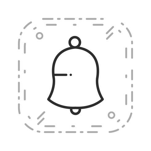Ícone de notificação de vetor