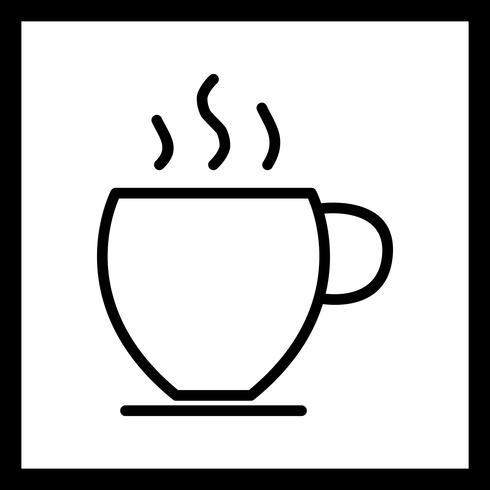 Ícone de chá de vetor