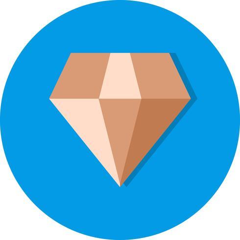 Ícone de diamante de vetor