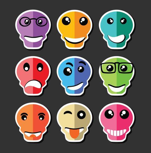 Emoticon emoticon expressão vetor