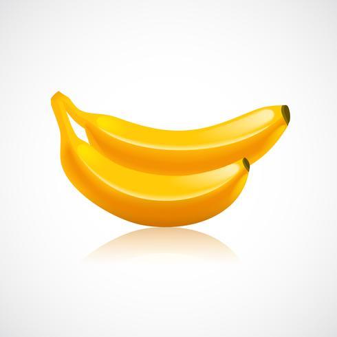 Ícone de fruta banana vetor