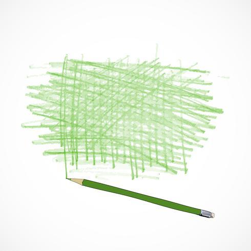 Esboço de modelo de ferramentas de desenho vetor