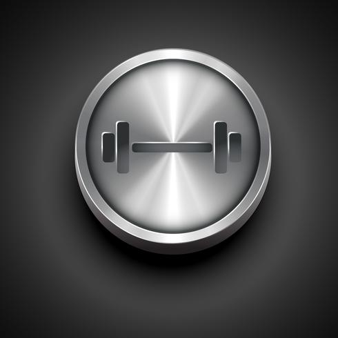 ícone de ginásio vetor