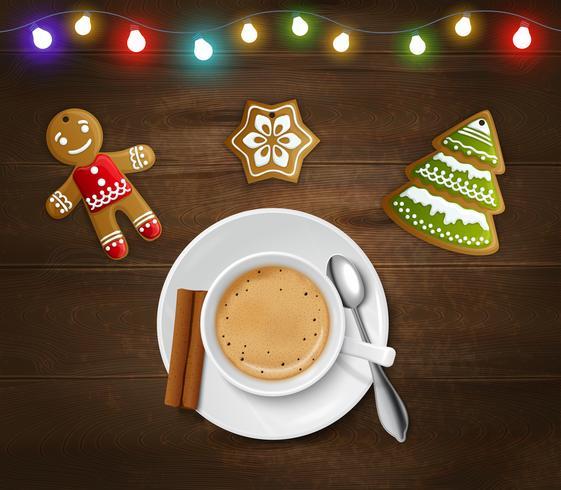 Natal e Ano Novo Poster vetor