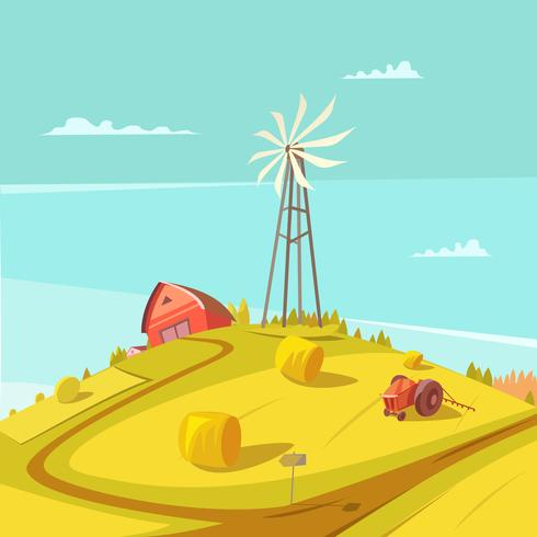 Agricultura e agricultura vetor