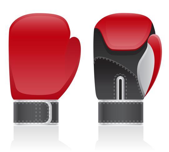 ilustração do vetor de luvas de boxe