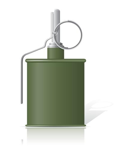 ilustração em vetor mão granada