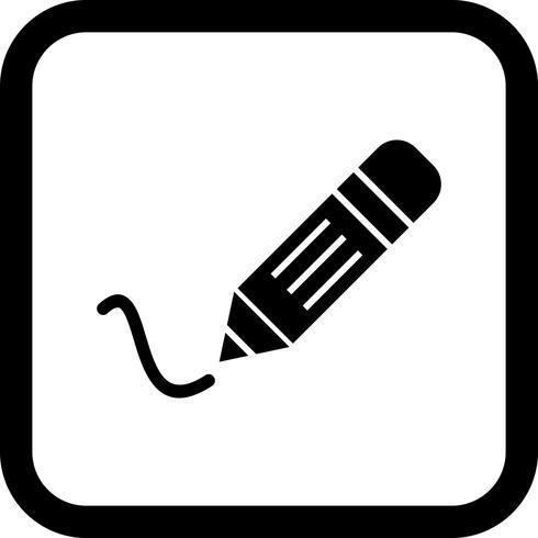 Escrevendo ícone Design vetor