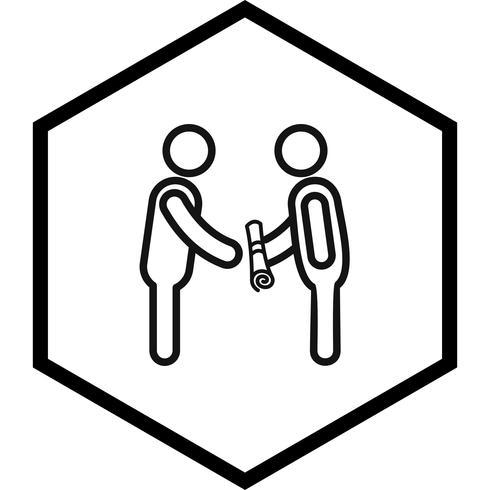 Obtendo o ícone de grau Design vetor
