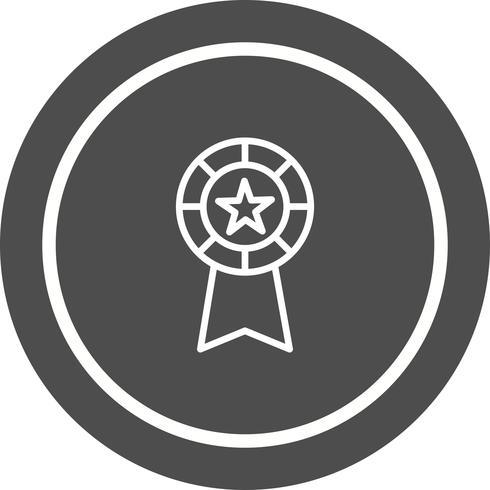 Ícone do design de fita vetor