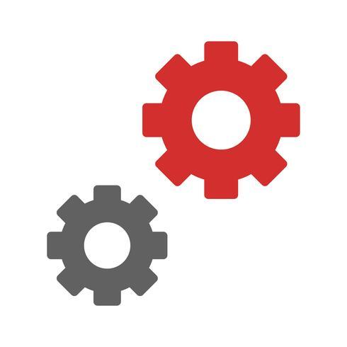 Ícone do design de configurações vetor