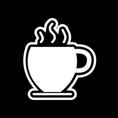 Ícone do chá vetor