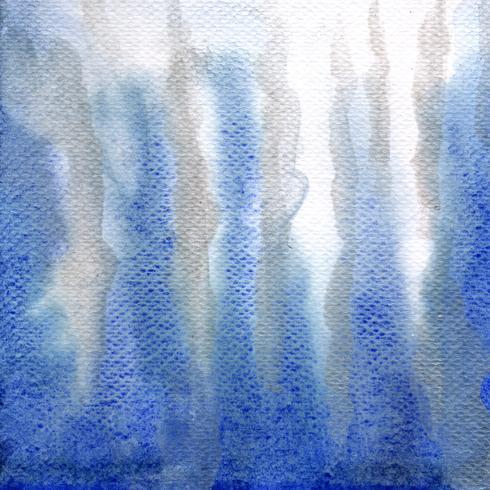 Indigo, aguarela ultra marinha da cor e grunge do respingo do projeto da bandeira da textura do fundo do guache, espaço com o papel de parede da ilustração do vetor da cópia do texto.