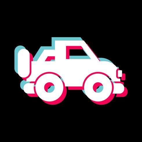 jipe ícone do design vetor