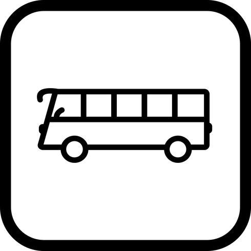 Design de ícone de ônibus vetor