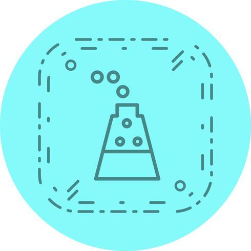 Design de ícone de experimento vetor