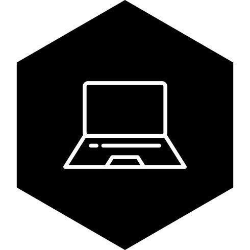 Design de ícone de laptop vetor