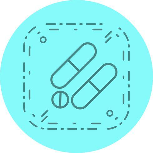 Design de ícone de medicamentos vetor