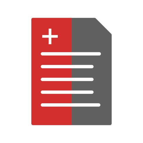 Report Icon Design vetor