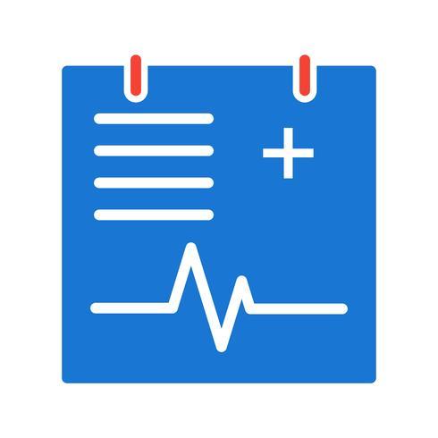 Projeto de ícone gráfico médico vetor