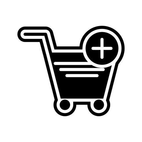 Adicionar ao carrinho Icon Design vetor
