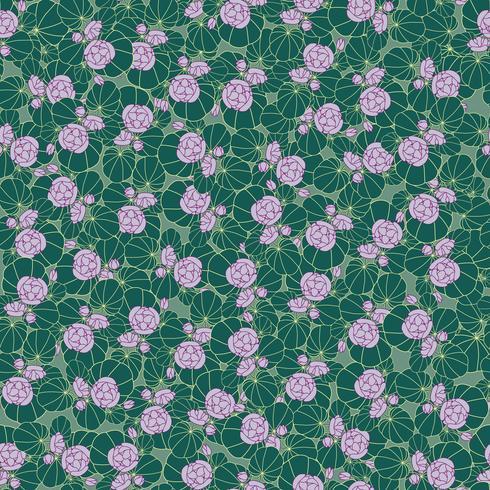 Padrão sem emenda floral. Fundo de flor. textura do jardim vetor