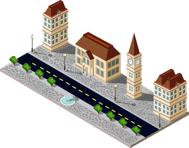 Cidade Velha vetor