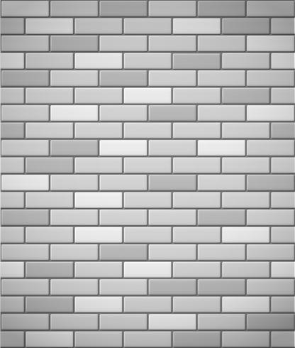 parede de fundo sem emenda de tijolo branco vetor