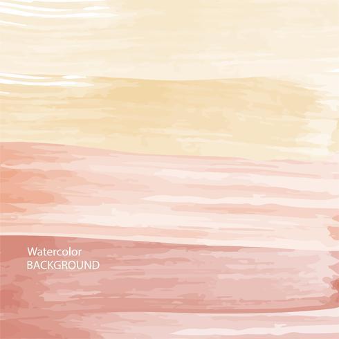 fundo de textura abstrato aquarela vermelho suave, quente e padrão de onda vetor