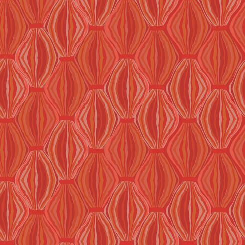 Padrão sem emenda abstrata Ornamento de linha Redemoinho textura oriental vetor