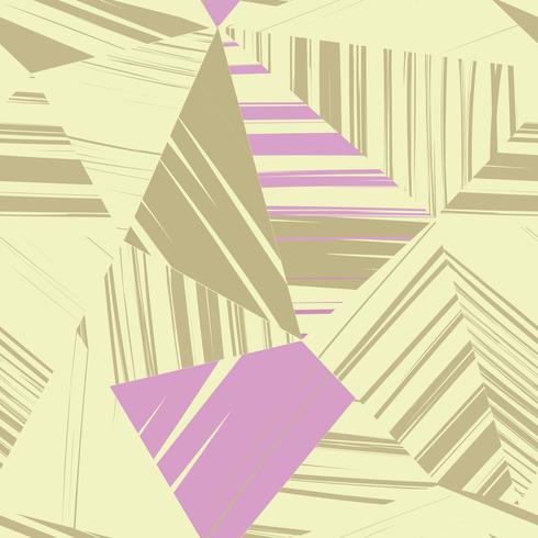 Padrão sem emenda de linha abstrata. Fundo de forma geométrica vetor
