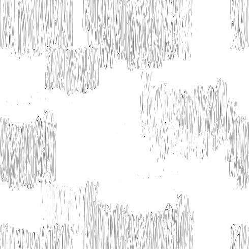 Abstrato geométrico padrão sem emenda. Linha desenhada telha textura vetor