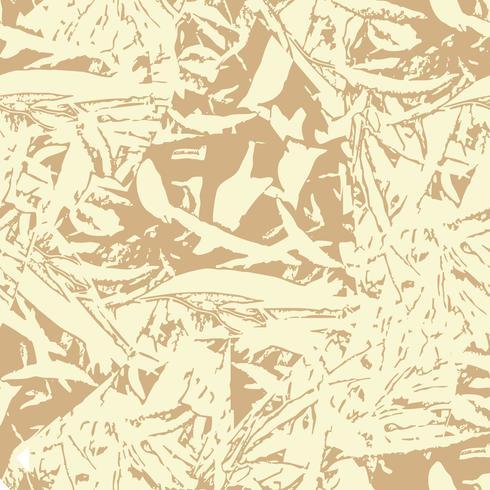 Padrão sem emenda floral abstrato. Folhas folhagem textura vetor