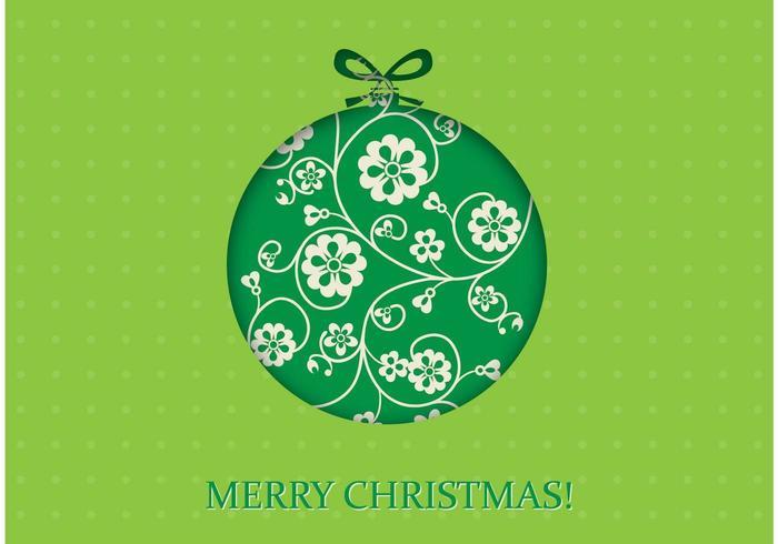 Papel de Parede de Natal Verde de Natal vetor