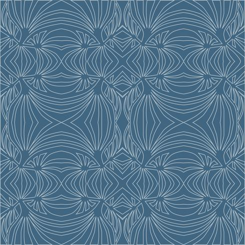 Abstract geometric pattern Textura sem emenda da onda. Ornamento floral vetor