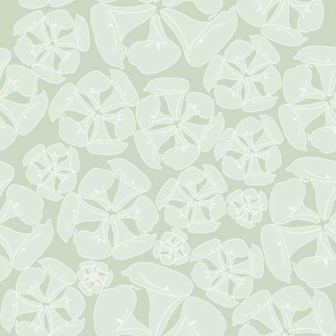 Teste padrão de flor floral sem costura de fundo. vetor
