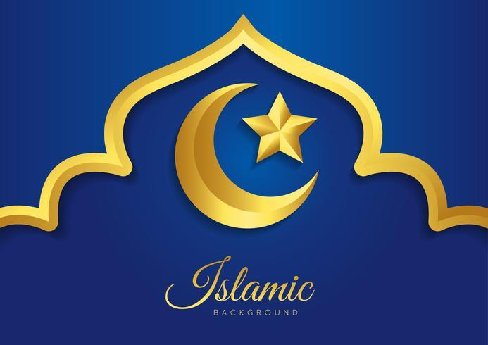 Desenho vetorial islâmico vetor
