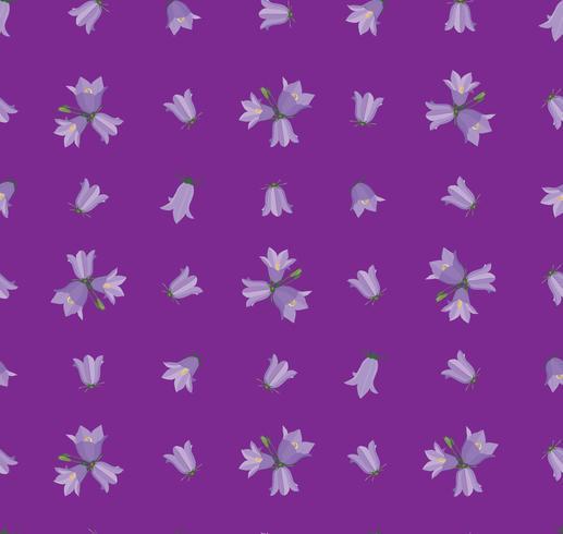 Padrão sem emenda floral. Fundo de flor. vetor