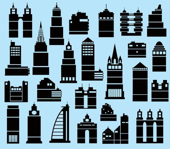 Cidade moderna vetor