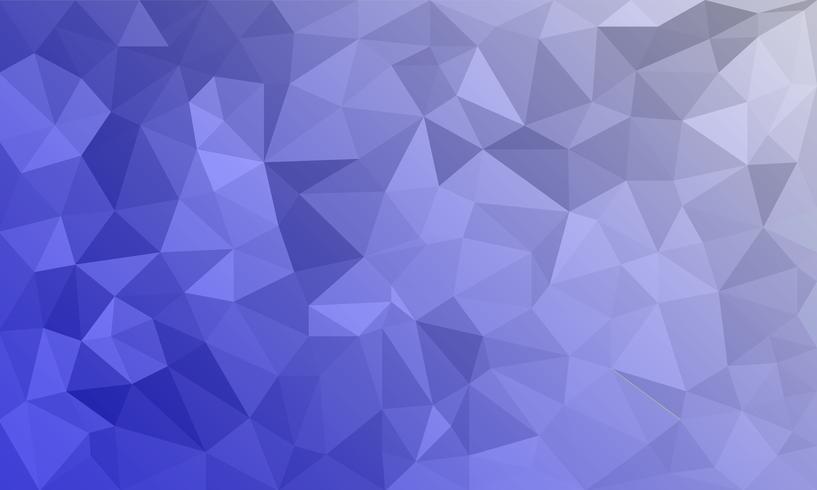 fundo roxo abstrato, formas de triângulo texturizado poli baixo em padrão aleatório, fundo lowpoly na moda vetor