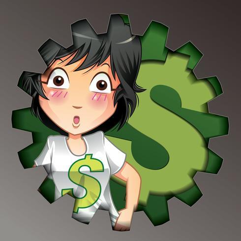 Dinheiro. vetor