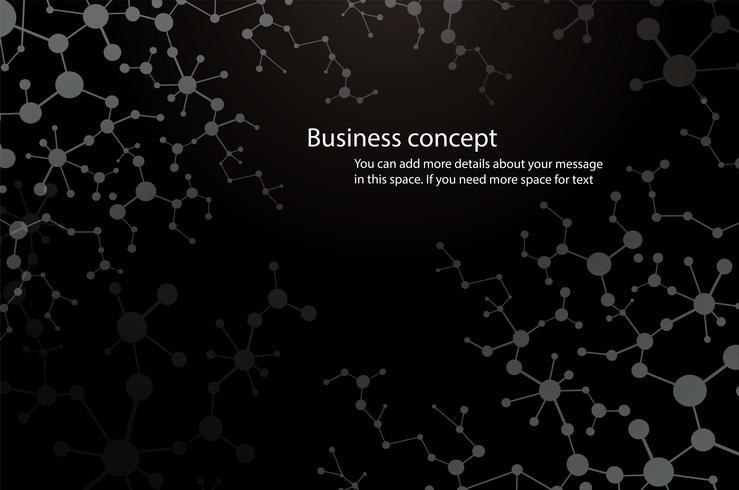 fundo de ciência, molécula fundo compostos genéticos e químicos tecnologia médica ou científica. conceito para o seu design vetor