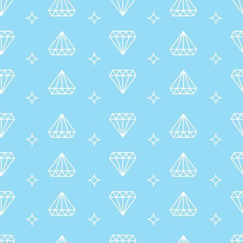 Fundo de diamante vetor