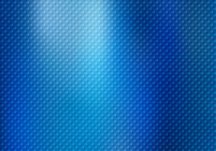 Os quadrados abstratos modelam a textura no fundo metálico azul. vetor