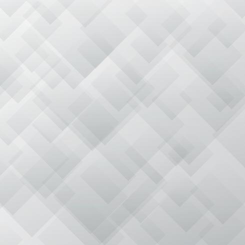 Os quadrados brancos e cinzentos elegantes abstratos do teste padrão overlay o fundo da textura. vetor