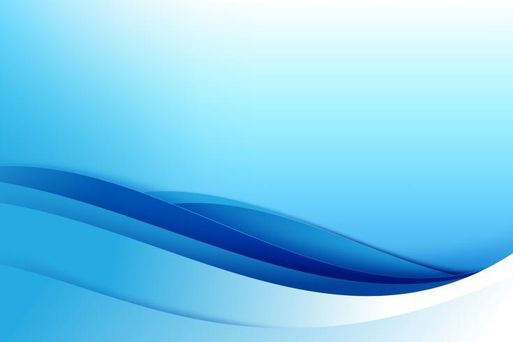 Curva escura abstrata do fundo azul 002 vetor