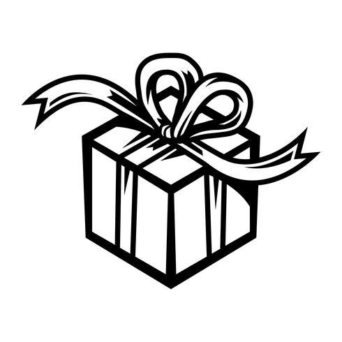 presente de Natal vetor