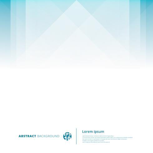 Luz geométrica da sobreposição da tecnologia abstrata - fundo azul com espaço da cópia. vetor