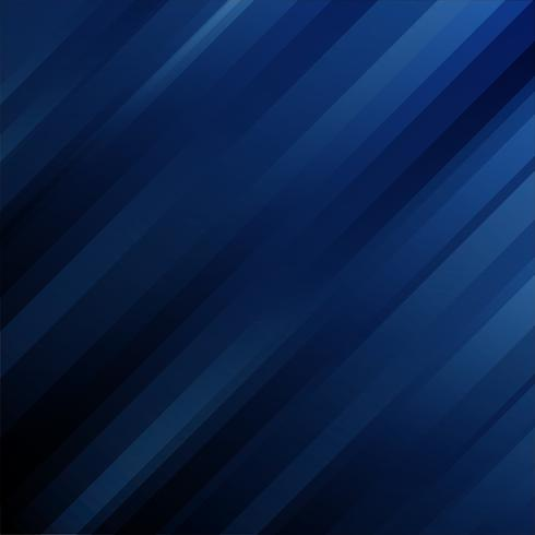 Linhas diagonais geométricas do molde futurista abstrato na obscuridade - fundo azul. vetor